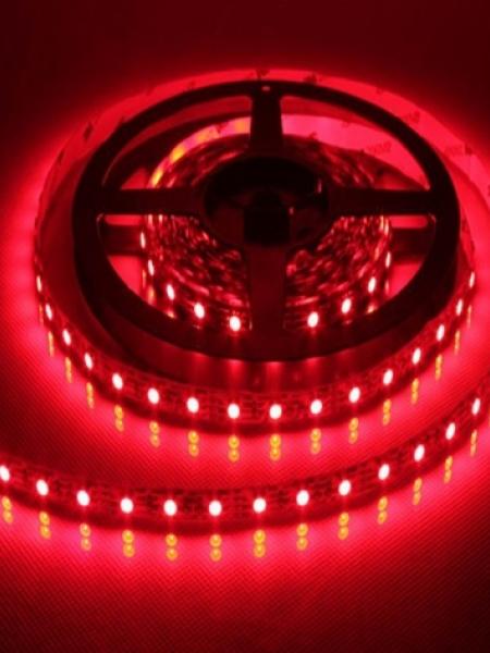 Светодиодная лента LUX герметичная 3528 120 диодов красная