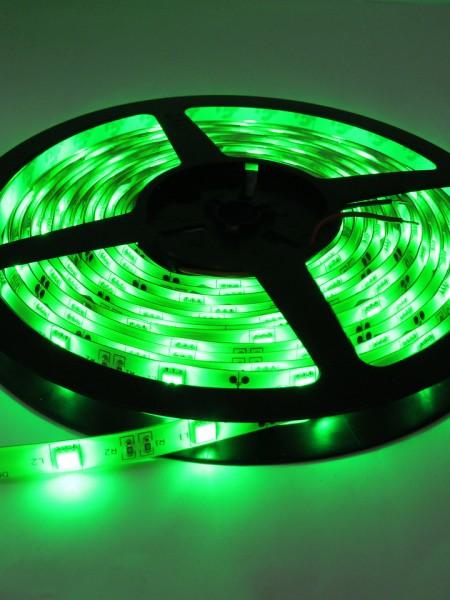 Светодиодная лента LUX герметичная 5050 30 диодов зеленая