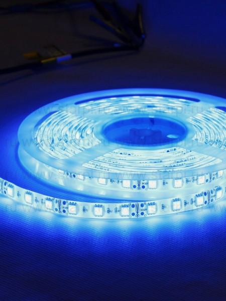 Светодиодная лента LUX герметичная 5050 60 диодов синяя