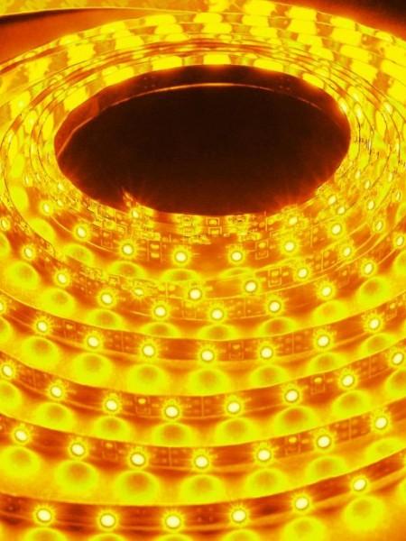 Светодиодная лента LUX открытая 5050 60 диодов желтый