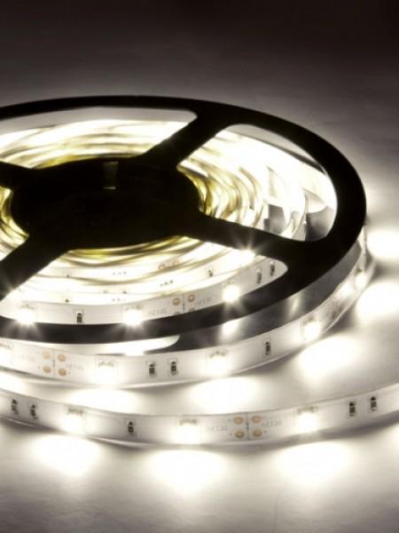 Светодиодная лента LUX герметичная 5050 30 диодов дневной белый