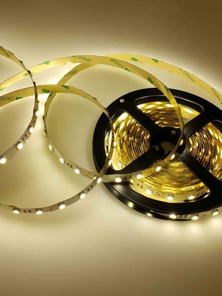 Светодиодная лента LUX герметичная 3528 120 диодов теплая-белая
