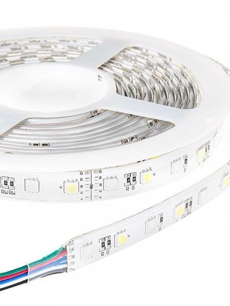Светодиодная лента ECONOM герметичная 5050 30 диодов RGB