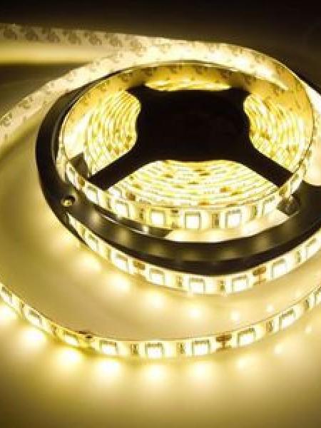 Светодиодная лента ECONOM герметичная 5050 30 диодов теплый белый