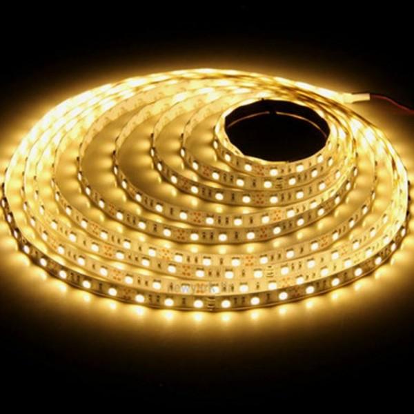 Светодиодная лента ECONOM герметичная 3528 60 диодов тепло белая