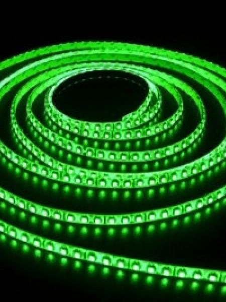 Светодиодная лента LUX открытая 3528 120 диодов зеленый