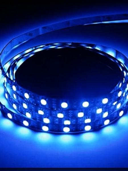 Светодиодная лента LUX открытая 5050 60 диодов синий
