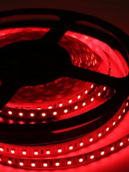 Светодиодная лента STANDART герметичная 3528 120 диодов красная