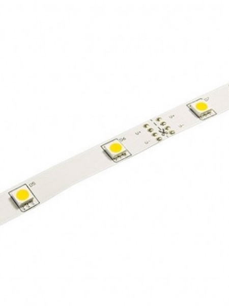 Светодиодная лента LUX открытая 5050 30 диодов белая