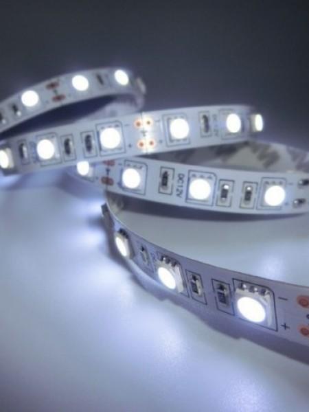 Светодиодная лента LUX открытая 3528 60 диодов белая