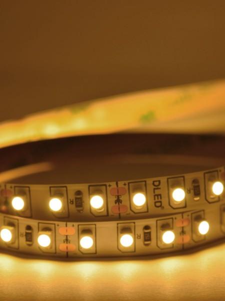 Светодиодная лента ECONOM открытая 3528 120 диодов тепло-белая