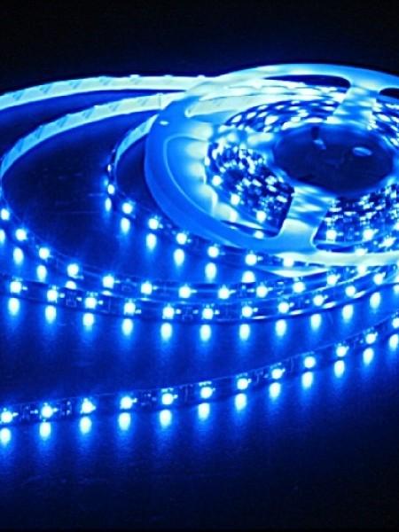 Светодиодная лента LUX герметичная 5050 30 диодов синяя