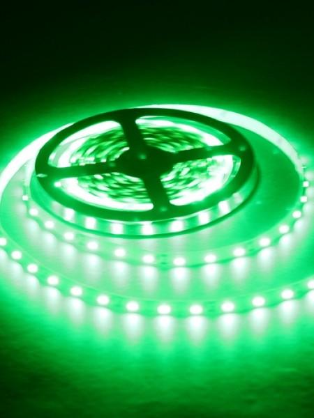 Светодиодная лента LUX герметичная 5050 60 диодов зеленый