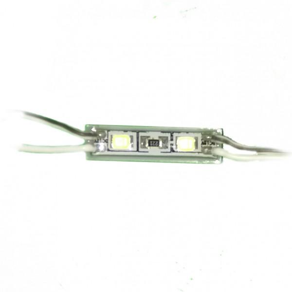 Светодиодный модуль 2 диода 3528 белый
