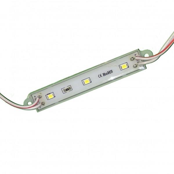 Светодиодный модуль 3 диода 2835 белый