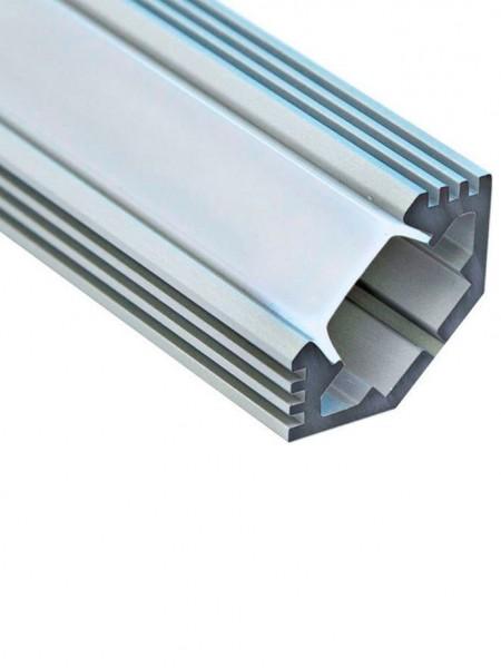 Профиль алюминиевый угловой 2м