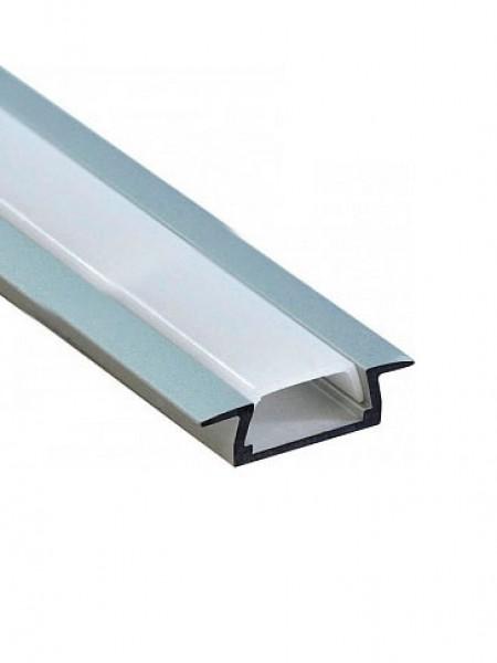 Профиль алюминиевый встраиваемый 2м