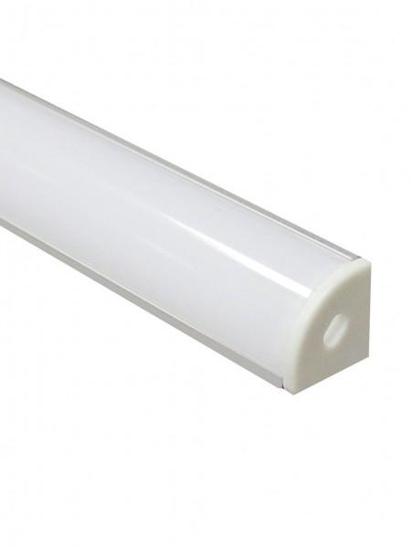 Профиль алюминиевый угловой круглый 2м