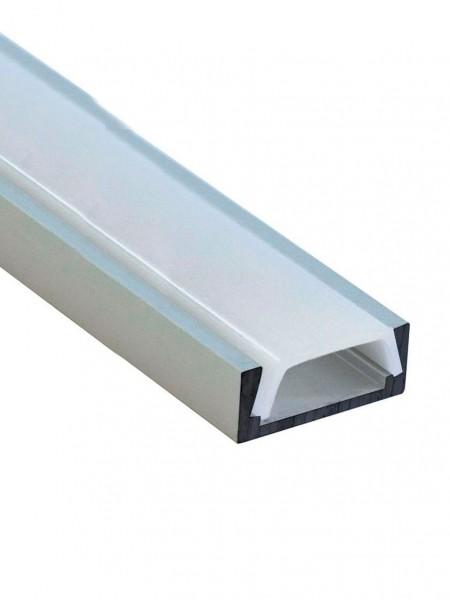 Профиль алюминиевый накладной 2м