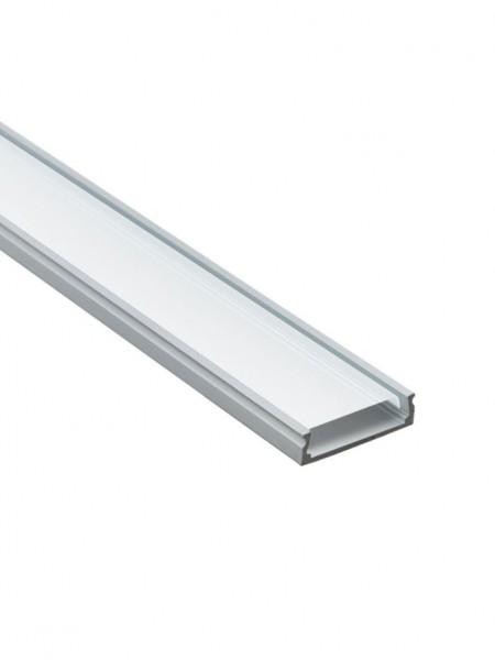 Профиль алюминиевый накладной широкий 2м