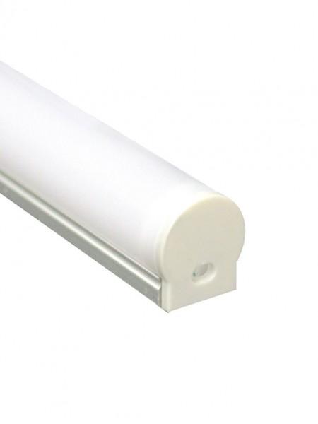 Профиль алюминиевый круглый узкий накладной 2м
