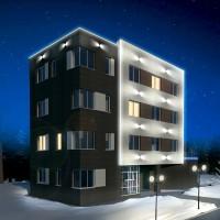 архитектурная подсветка примеры