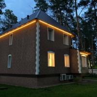Яркий профессиональный гибкий неон для зданий