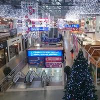Праздничная иллюминация - световая подсветка торговых центров