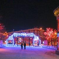 Новогодние светодиодные арки