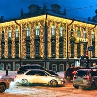 Световые шторы для оформления ресторанов
