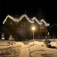 Светодиодная бахрома для подсветки дома