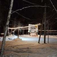 Светодиодные гирлянды для подсветки парка