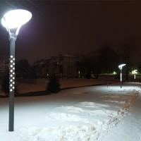 Стрит 25 фонарь отраженного света