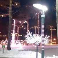 производство уличных фонарей