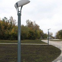 Высокие уличные фонари для парков и скверов
