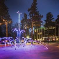 Собственное производство световых фонтанов