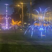 Производство световых фонтанов