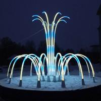 Световой фонтан желаний