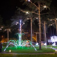 Программируемый световой фонтан