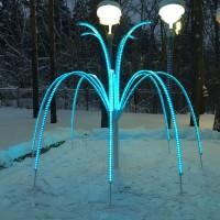 Световой фонтан программируемый
