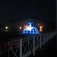 Программируемые светодиодные фонтаны вместо водных
