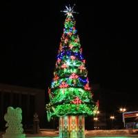 Комплекты светодиодных гирлянд на елку
