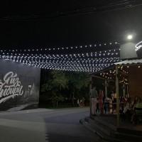 Полотна уличные из светодиодных гирлянд