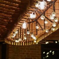 Крупные светодиодные гирлянды с лампочками