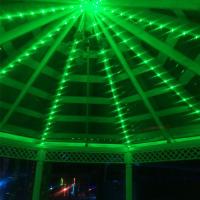 Подсветка светодиодными гирляндами куполов
