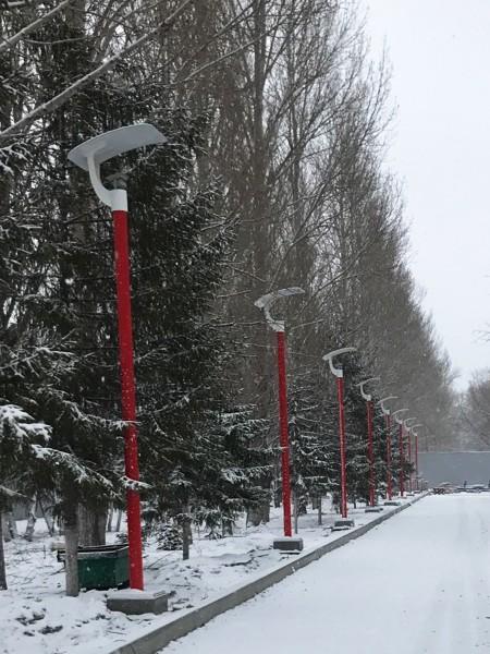 Парковый фонарь LS Стрит-11, h=5м. Полный комплект.