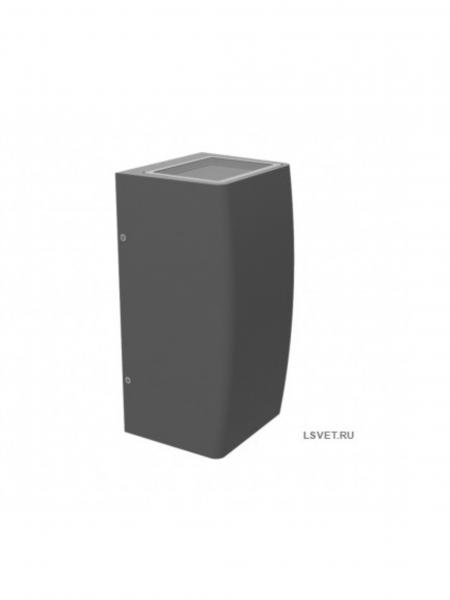 Светодиодный фасадный светильник 2-х сторонний IS-WS 12Вт