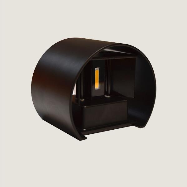 Архитектурный  настенный двухлучевой светильник 6Вт
