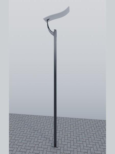 Парковый фонарь LS Стрит-12, h=4м. Полный комплект.