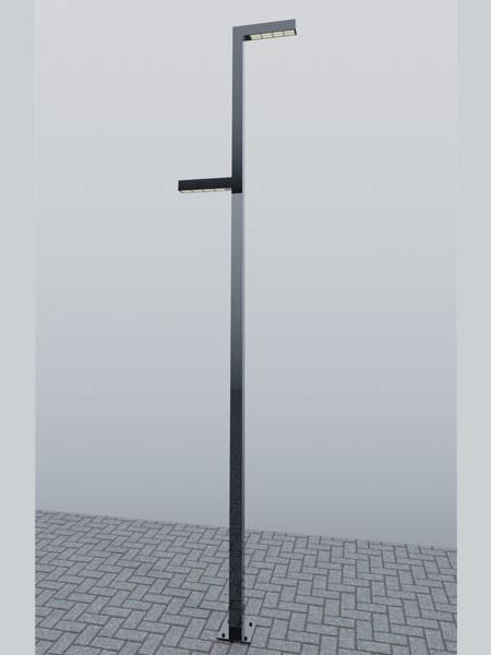 Фонарь LS Стрит-17-2, h=4-8м
